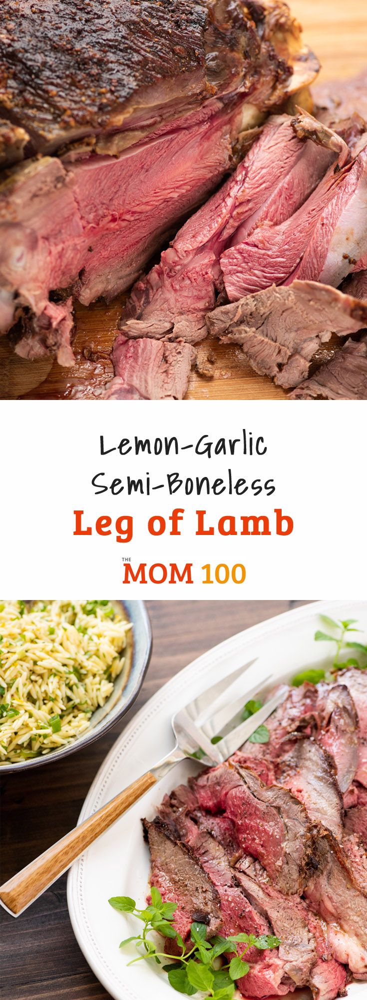 Lemon-Garlic Leg of Lamb: There are few large pieces of meat that my family loves more than a leg of lamb, and few that make more of a statement for company.