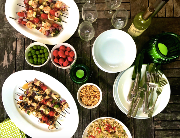 9 Tips for Relaxed Entertaining and Menu Planning