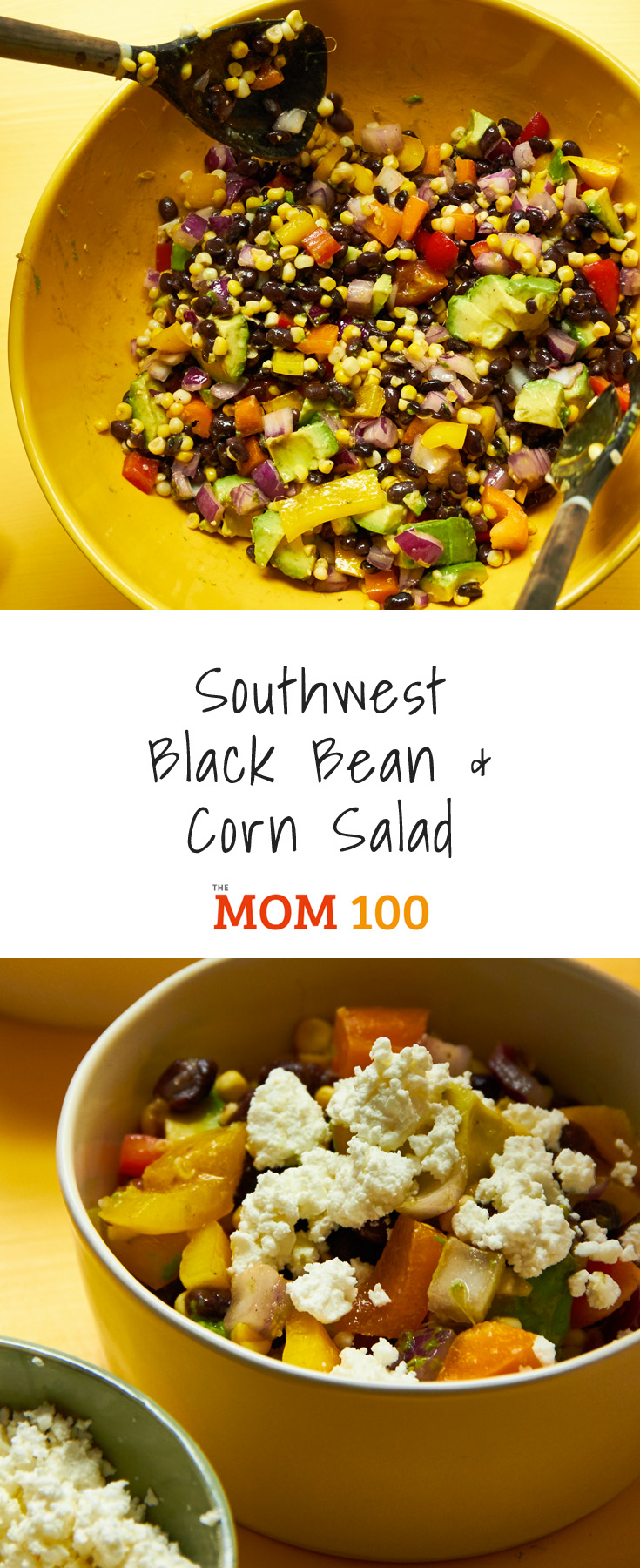 This Southwest Black Bean and Corn Salad recipe is beautiful, easy, inexpensive, vegetarian, satisfying, perfect for buffets and potluck. That\'s a mouthful.