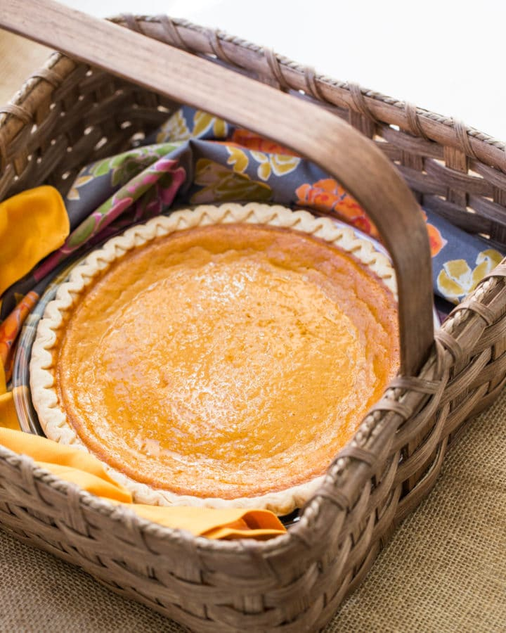 How to make electricity with sweet potato pie filling thicker