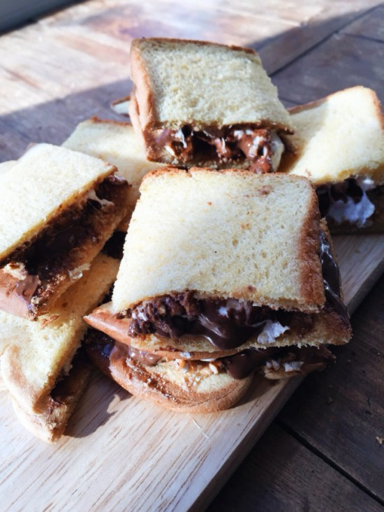 Martin's Pretzel Peanut Butter S'mores / Katie Workman themom100.com