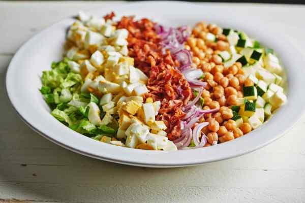 Late Summer Cobb Salad