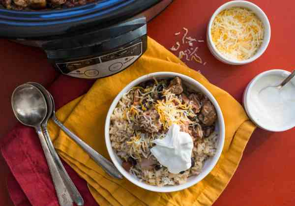Slow Cooker Chicken Chili / Sarah Crowder / Katie Workman / themom100.com