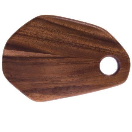 Cracker Barrel Acacia Wood Cutting and Cheese Board / Cracker Barrel