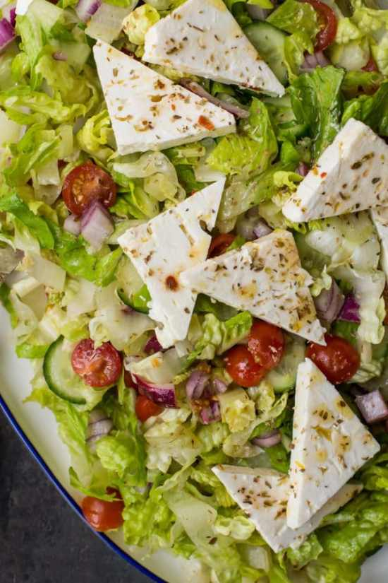 Greek Salad / Sarah Crowder / Katie Workman / themom100.com