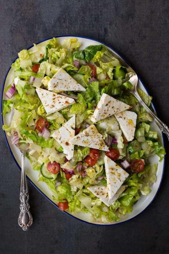 Greek Salad / Sarah Crowder / Katie Workman / themom100.com