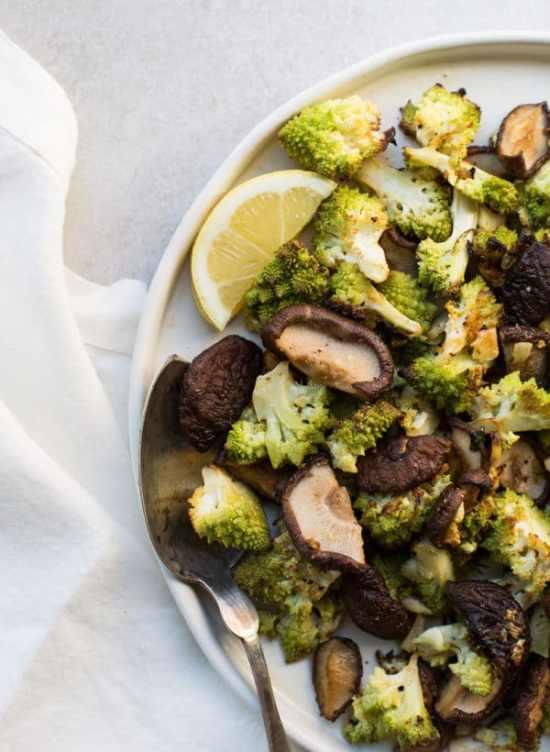 Romanesco broccoli recipes / Katie Workman / themom100.com / Photo by Sarah Crowder
