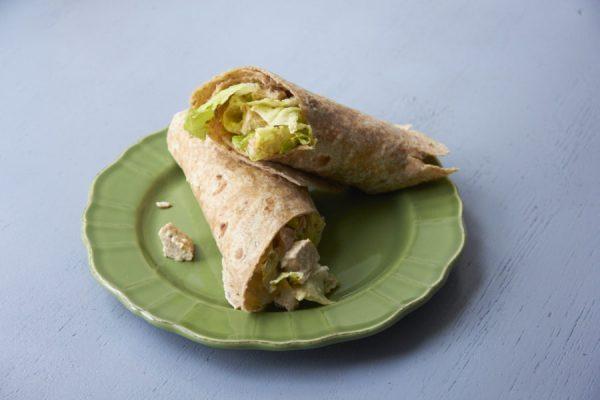 Grilled Chicken Caesar Salad Wraps / Mia / Katie Workman / themom100.com