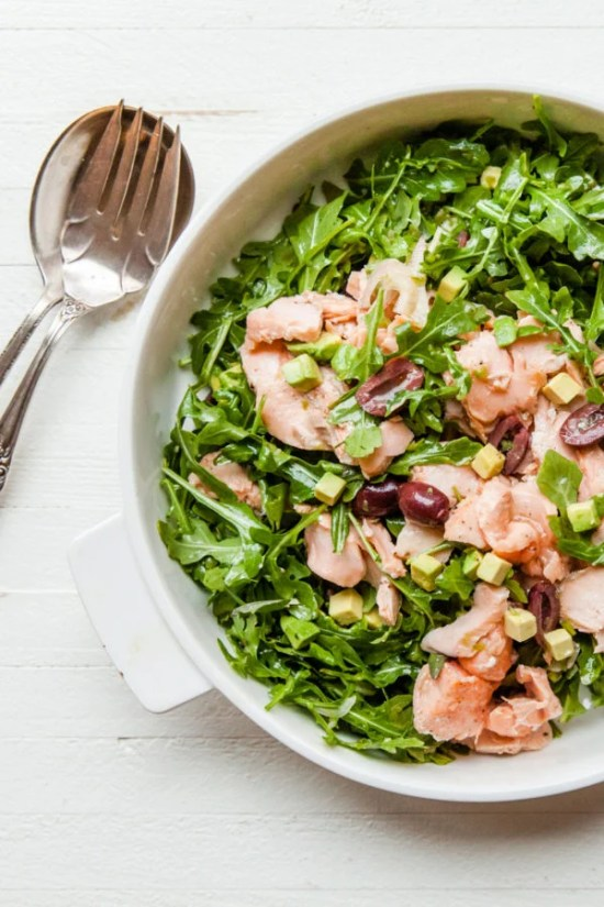 Salmon Salad / Carrie Crow / Katie Workman / themom100.com