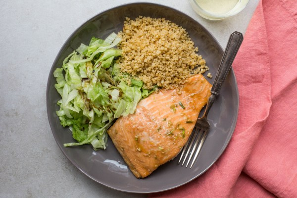 Honey-Hoisin Salmon / Sarah Crowder / Katie Workman / themom100.com
