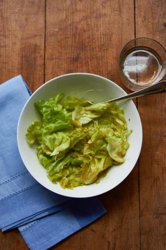 Butter Lettuce Salad with Lemon Vinaigrette / Mia / Katie Workman / themom100.com