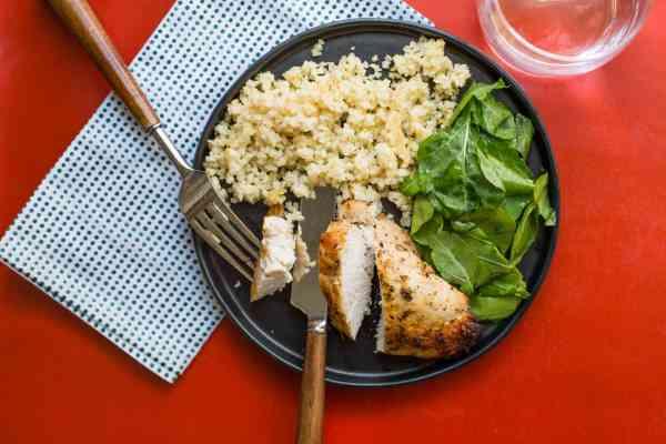 Greek Roasted Chicken Breasts / Sarah Crowder / Katie Workman / www.themom100.com