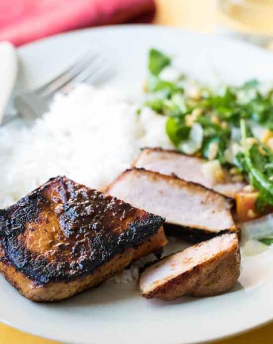 pan fried Korean Pork Chop recipe / Sarah Crowder / Katie Workman / themom100.com
