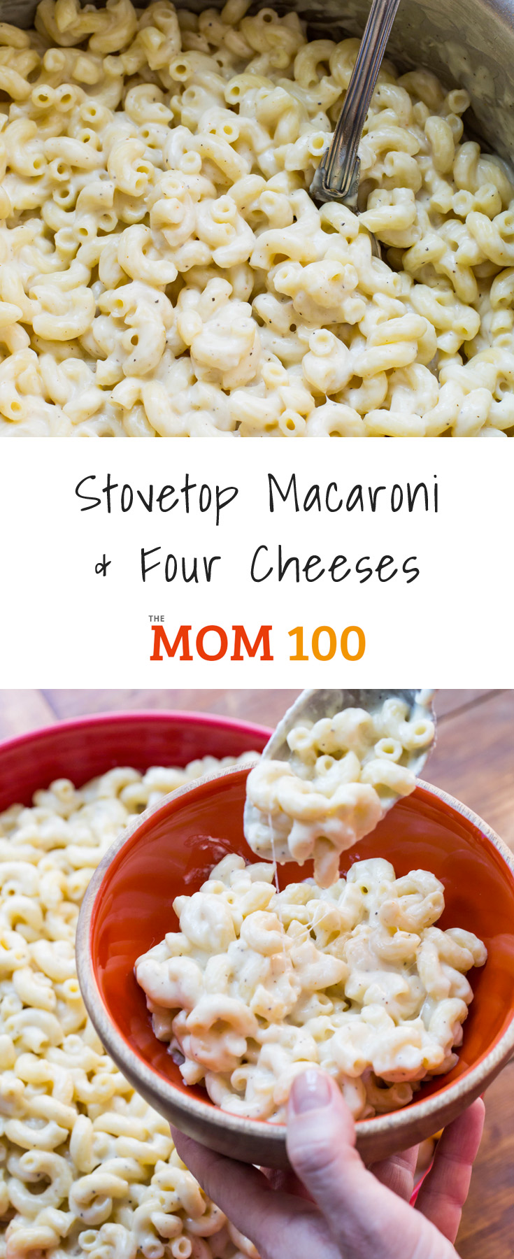 Nothing is more delicious or satisfying than making this Stovetop Macaroni and Four Cheeses dish, and it's really, truly, and surprisingly easy.