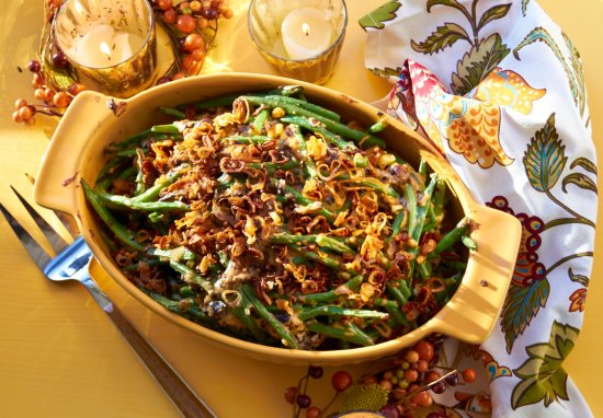 Modern Green Bean Casserole / Katie Workman / themom100.com