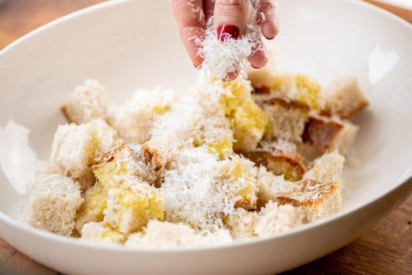 Parmesan Croutons / Photo by Cheyenne Cohen / Katie Workman / themom100.com