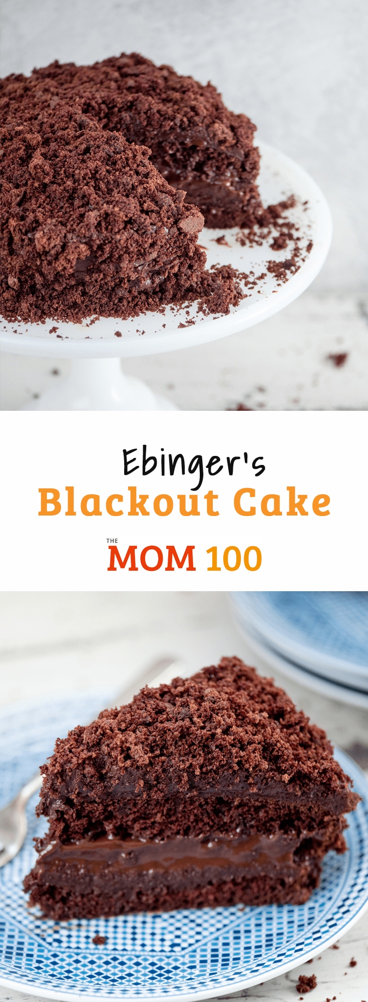 Ebinger's Blackout Cake is the chocolatey, moist and legendary cake from the popular Brooklyn bakery that disappeared in 1972.