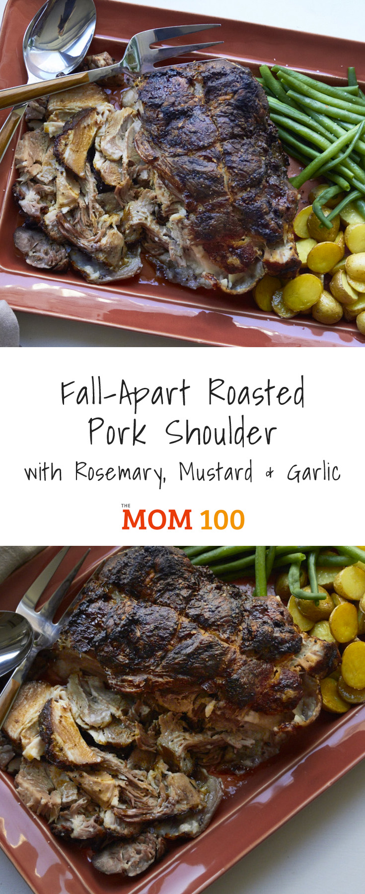 Fall-Apart Roasted Pork Shoulder with Rosemary, Mustard and Garlic