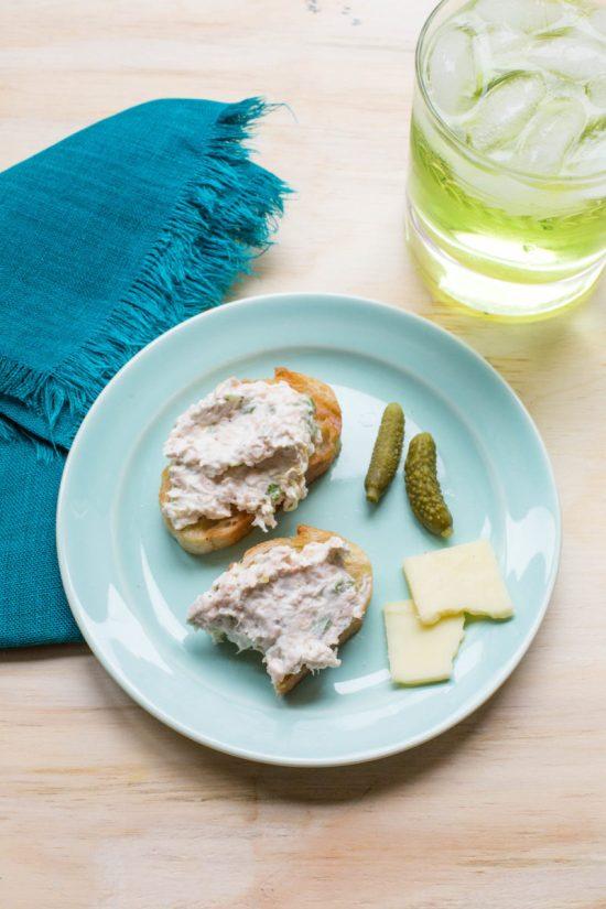 Poached Salmon Spread / Sarah Crowder / Katie Workman / themom100.com