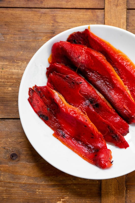 How to Make Perfect Roasted Peppers / Cheyenne Cohen / Katie Workman / themom100.com