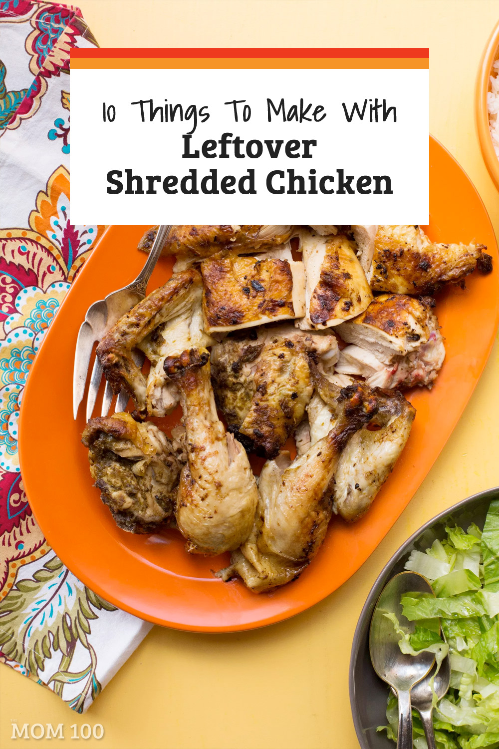What to Do with Leftover Chicken?: When you have leftover shredded chicken in the fridge, dinner is always very close by.