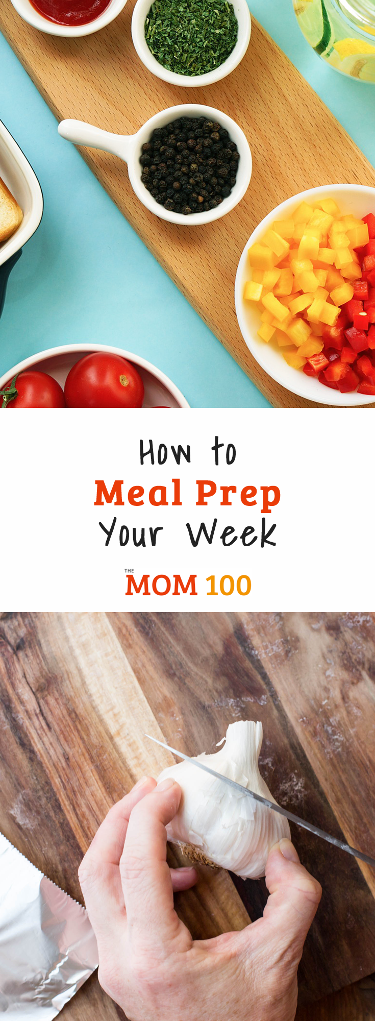 How to Meal Prep Your Week: How to get ahead of the week\'s cooking by prepping and storing a bunch of ingredients you likely will call into duty.  Prep like a boss!
