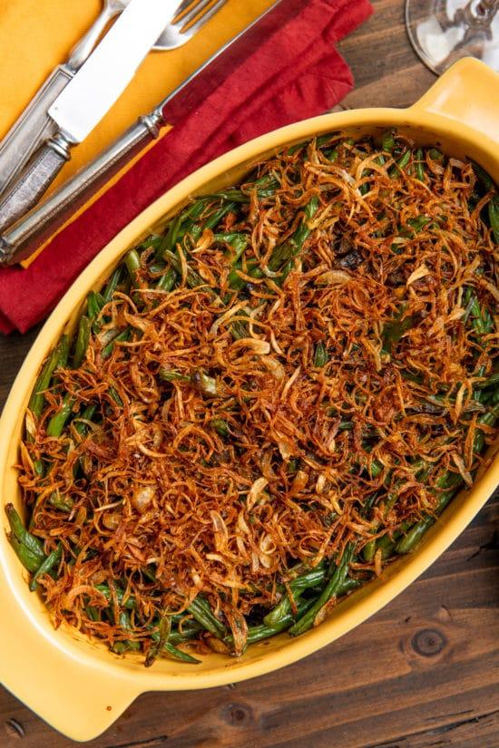 Best Green Bean Casserole / Katie Workman / themom100.com / Photo by Cheyenne Cohen