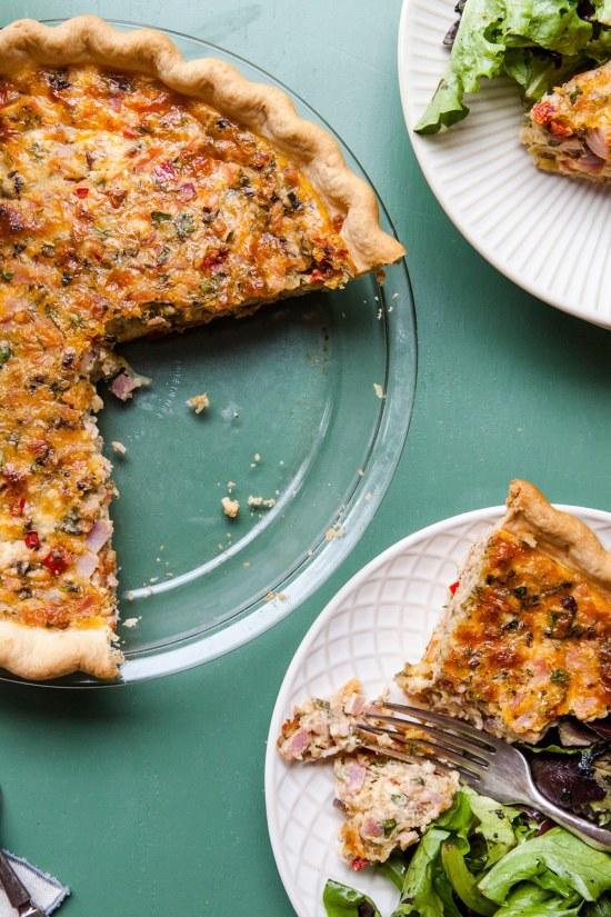 Savory Pie Recipes / Katie Workman / themom100.com / Photo by Cheyenne Cohen