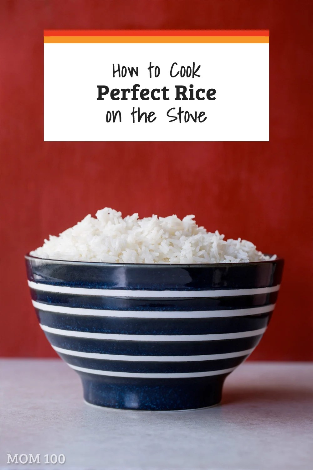 All it takes to know How to Cook Perfect Rice on the Stove - finally get over your rice fear and get fluffy, non-sticky white rice every time.