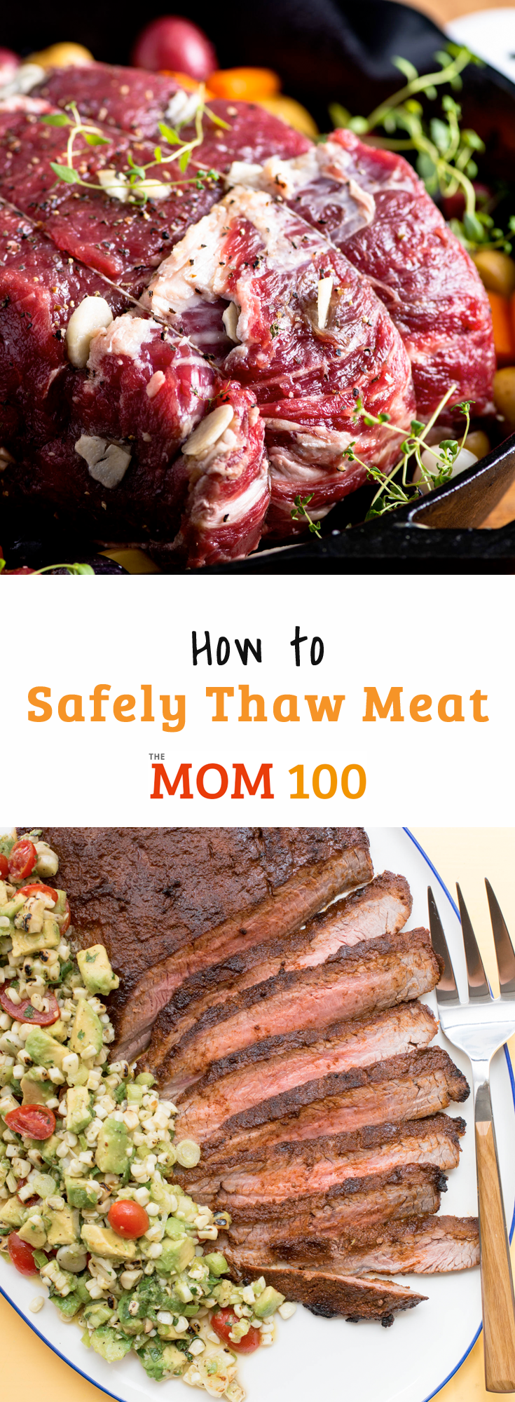 How to Safely Thaw Meat: All the methods you need to know for defrosting frozen meat safely, from chops to ground beef to roasts.