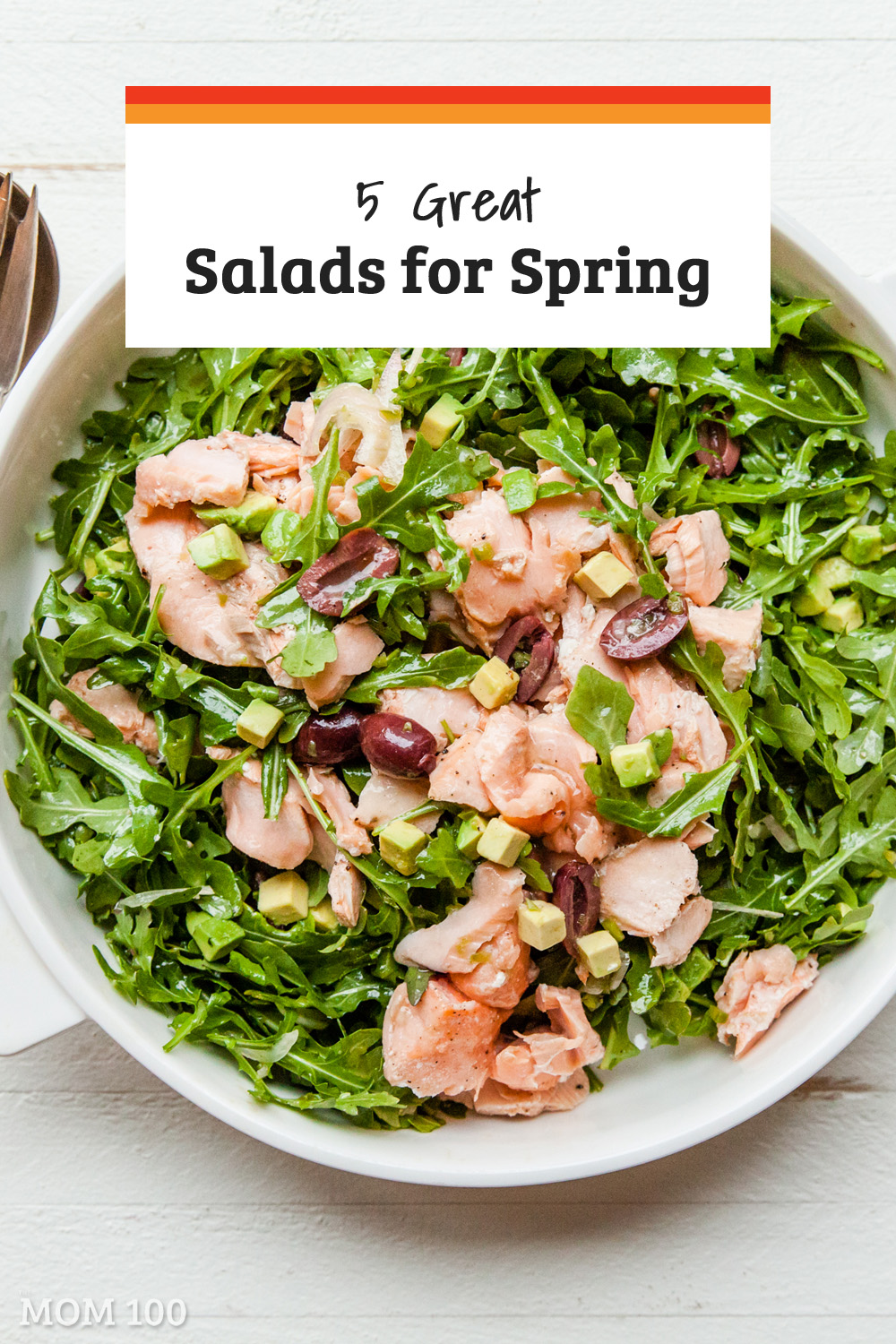 5 Great Salads for Spring: Spring = salads, and here are 5 crunchy, fresh salads to get the season started.