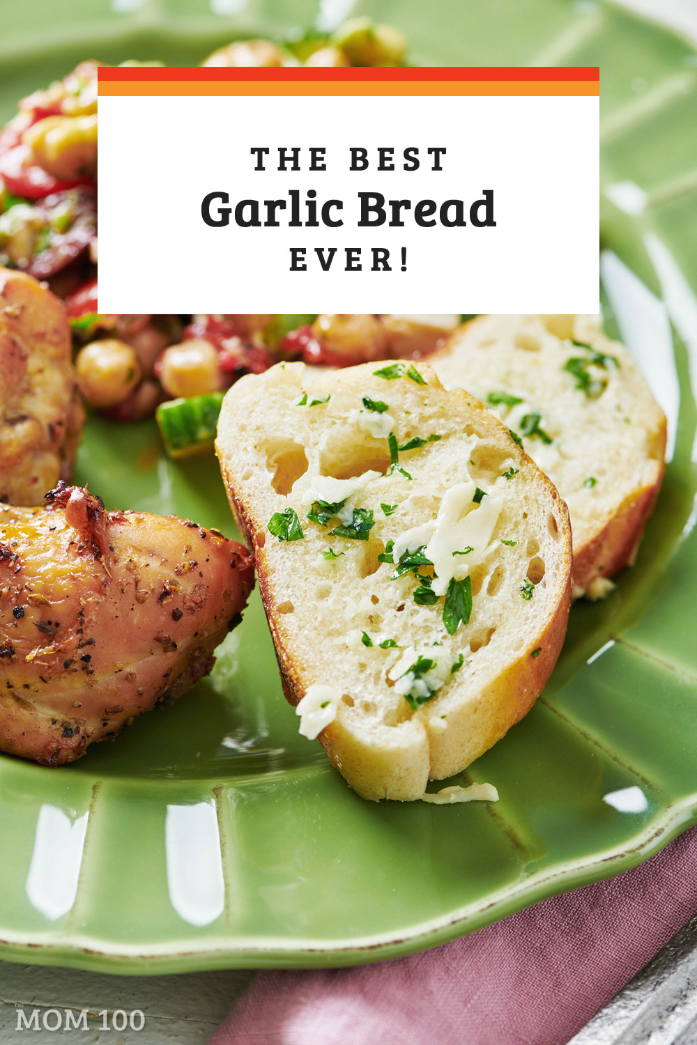 Best Garlic Bread Ever: Garlic bread is one of the most perfect foods of all time, and one of the easiest to make.