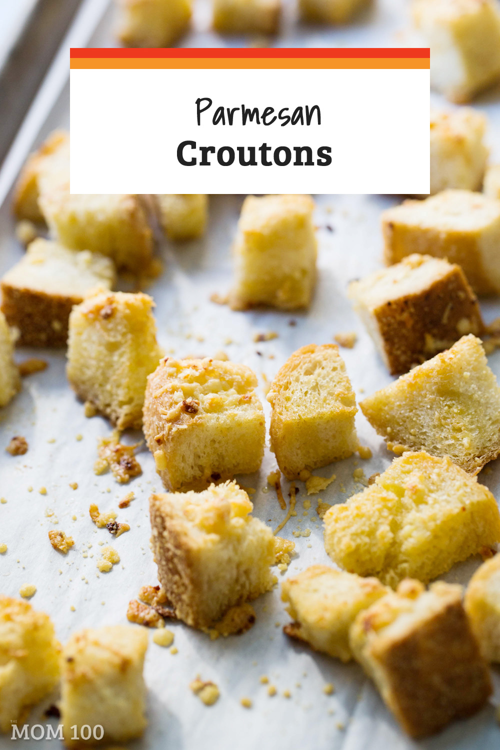 Croutons from a box will never measure up again after you've made these Parmesan Croutons. As seen on The Today Show.