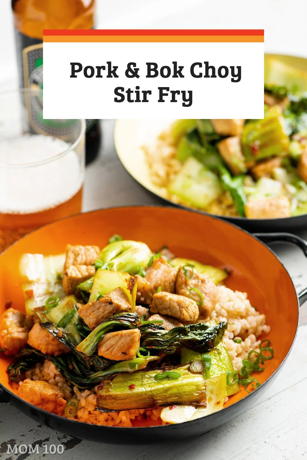 Pork and Bok Choy Stir Fry: Super simple, but not short on flavor—and 20 minutes start to finish, including prepping the ingredients.