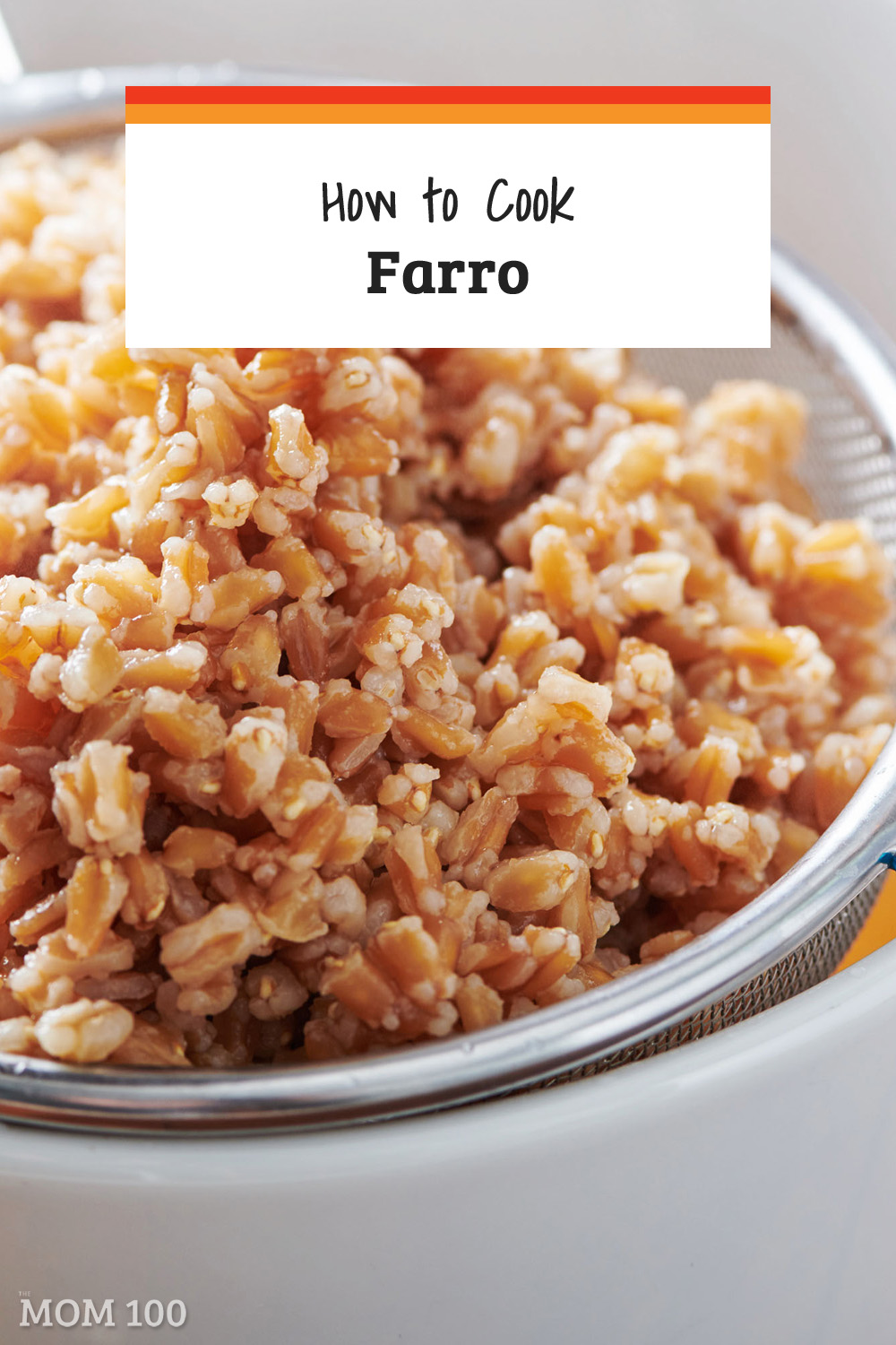 Farro is an amazing chewy, delicious ancient grain and here is what you need to know to cook it perfectly (it\'s as easy as cooking pasta)!