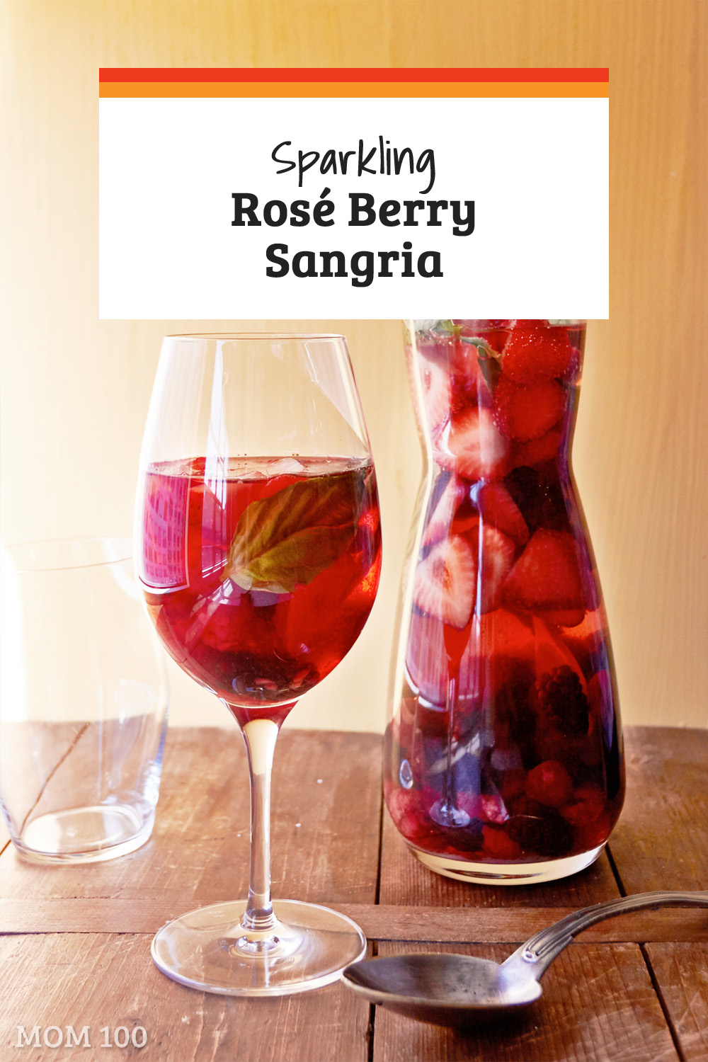 Summer Berry Sangria: Stunningly beautiful, fruity, and a delightful pitcher drink for summer entertaining.