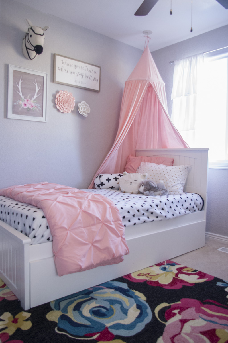 Big Girl Room Redesign - The Mombot on Girls Bedroom Ideas  id=59750