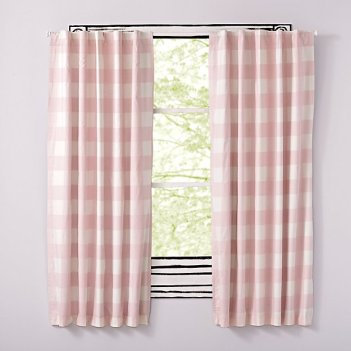 pink-buffalo-check-curtains