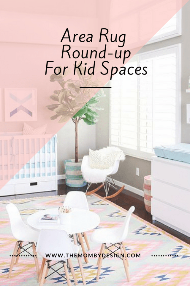 Area Rug Round-upFor Kid Spaces
