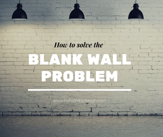 The Blank Wall Problem