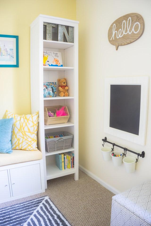 playroom/office reveal