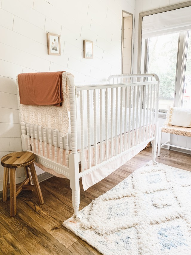 Scandinavian nursery reveal