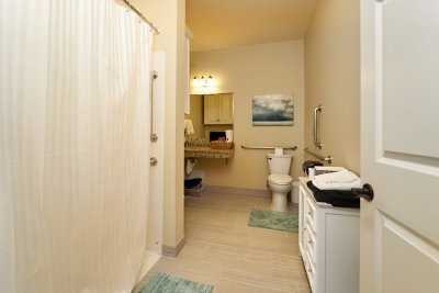 the moments suite bathroom