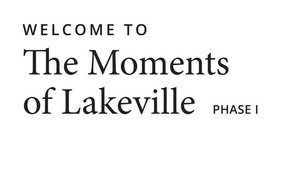 Welcome to the Moments - Phase I