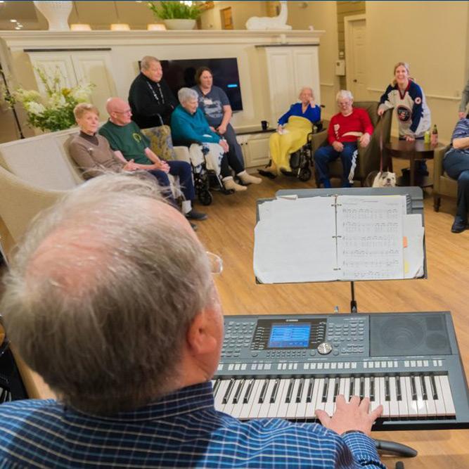 senior citizen assisted living