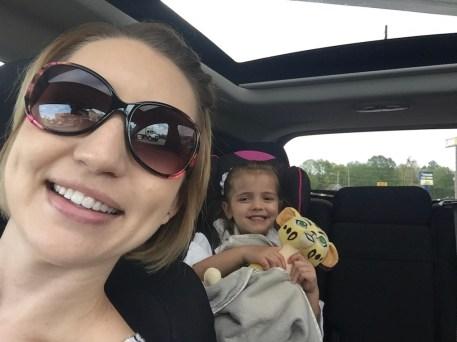 My Girl in car