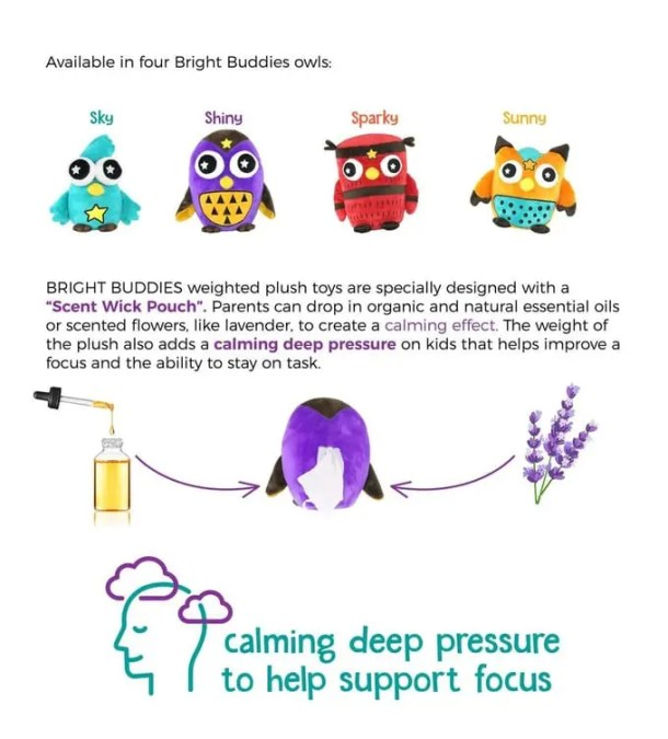 Bright Buddies: Adorable Weighted Blanket & Weighted Plush Combo for Children with Autism Anxiety, ADHD, SPD, and other Sensory Needs #autism #sensoryproccessing #anxiety #weightedblanket #weightedplush #weighttoys #benefitsofweightedblankets