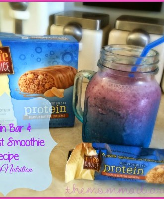Protein Bar and Breakfast Smoothie Recipe