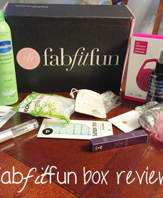 FabFitFun Subscription Box Review and a Special Offer