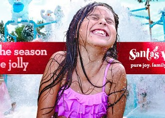 Celebrate Christmas All Summer at Santa's Village!